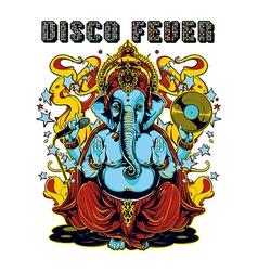 Disco fever vector image