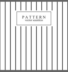 minimal geometric striped seamless pattern vector image vector image