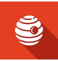 beehive icon vector image