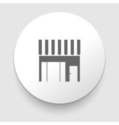 Cafe iocn vector image