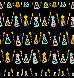 celebrate seamless pattern vector image