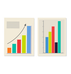 chart and graphic collection vector image