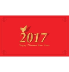 Collection of Chinese New Year greeting card vector