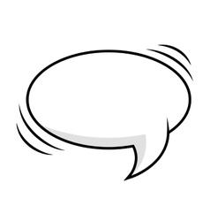 comic bubble expression vector image