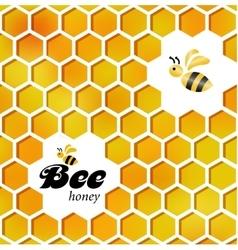 Merry bee Template vector image