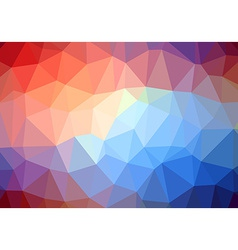 Modern colorful abstract retro triangle background vector