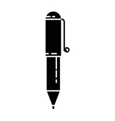 pen write isolated icon vector image