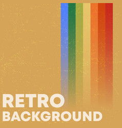 retro grunge texture background with vintage vector image