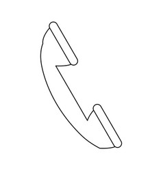 Telephone service call device communication icon vector