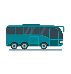travel bus icon vector image