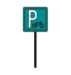 Bike parking vector