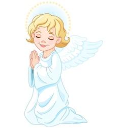 Praying Angel vector image