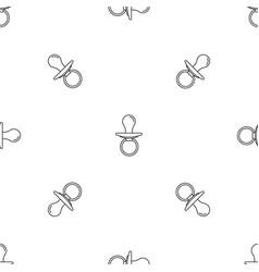 Boy nipple pattern seamless vector