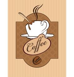Chocolate coffee vector