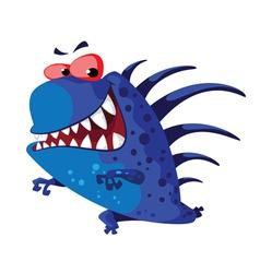 Echinate monster vector