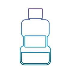 Mouthwash icon image vector