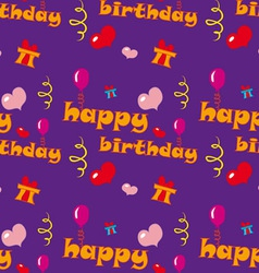 Happy Birthday Texture vector image