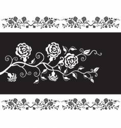 roses design vector image vector image
