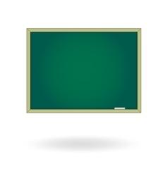 Blank chalk board drawing cartoon vector