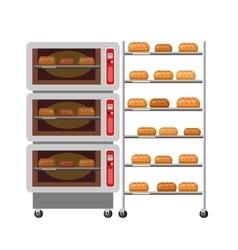 Equipment for baking Kitchen appliances Ovens vector image