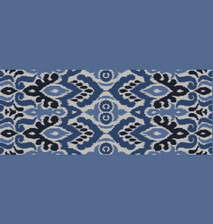 Abstract seamless pattern ethnic style vector