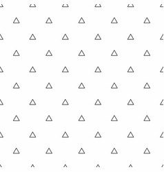abstract seamless pattern grey triangles modern vector image