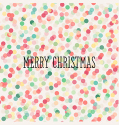 Christmas seamless pattern with pastel confetti vector