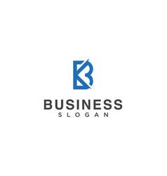 Letter k b bk design inspiration vector