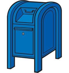 Mail box vector image