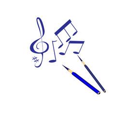 musik vector image