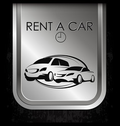 rent a car different classes vector image