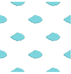 Small cloud pattern flat vector