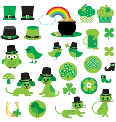St patricks day clipart vector