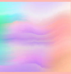 watercolor paint mixing on wet surface soft vector image