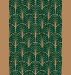 art deco geometric seamless pattern vector image vector image