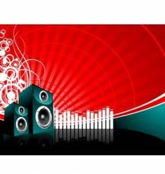 Music speaker vector