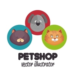 pet shop veterinary design graphic vector image vector image