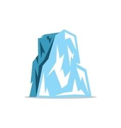 Iceberg Cartoon vector image vector image