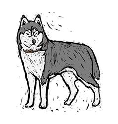 A wolf vector