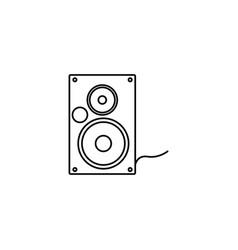 Audio speaker icon vector