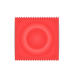condom plastic package vector image