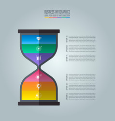 infographic design business concept vector image
