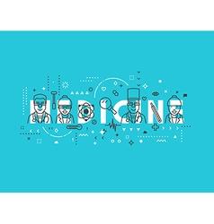 Medicine concept design vector