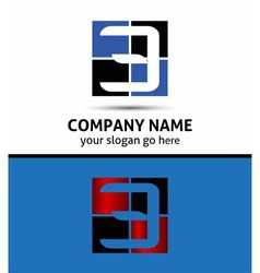 Number three 3 logo symbol design template element vector