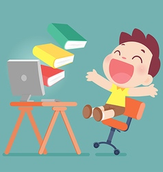 Online learning vector
