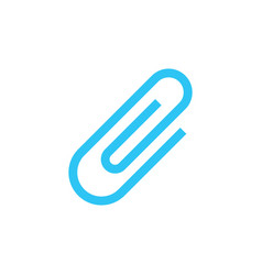 paper clip - attachment icon - attached file vector image