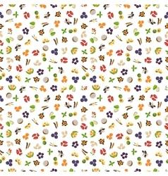 Vegetarian superfood healthy vegetable pattern vector