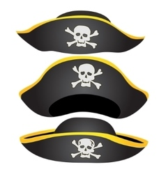 Pirate Hat Isolated vector image