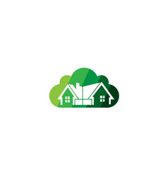 Architecture for home and houses for logo design vector