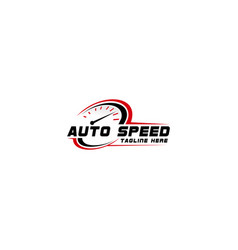 Auto speed and automotive logo design template vector